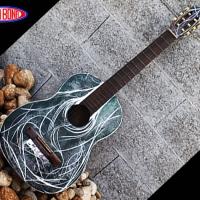 DALLA BONA AIRBRUSH STRUMENTI MUSICALI CHITARRA